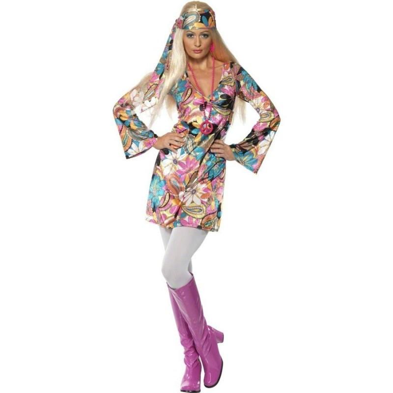 bb0e163bf64 Hippie šaty 70.léta M - Princesse