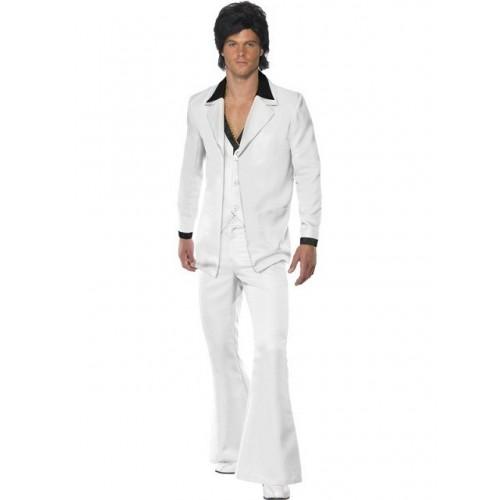 Bílý oblek 70.léta L
