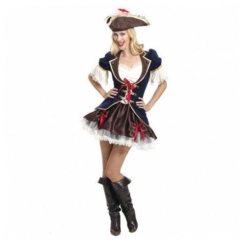 Pirátka hnědomodrá S