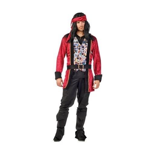 Pirát červený L