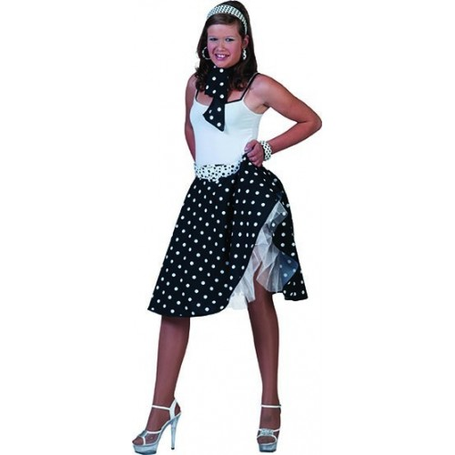 50.léta sukně černá S/M