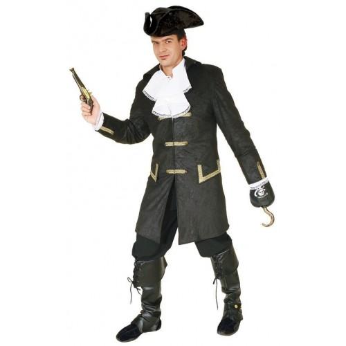 Pirát černý XXL