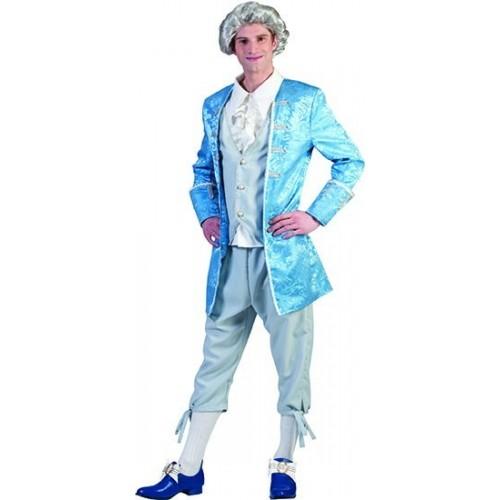 Benátský pán modrý XL