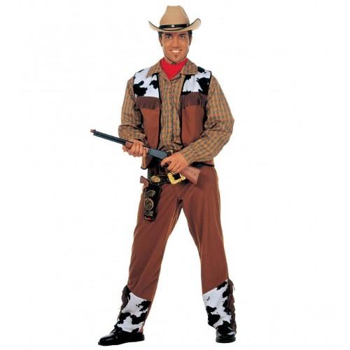 Cowboy hnědý L