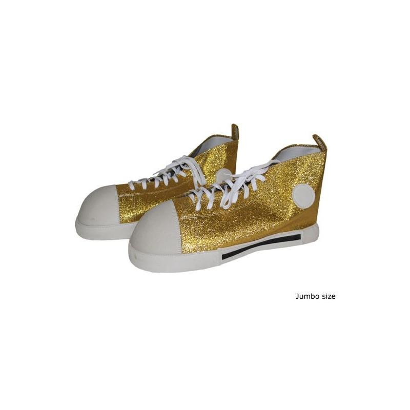 Boty klaun zlaté