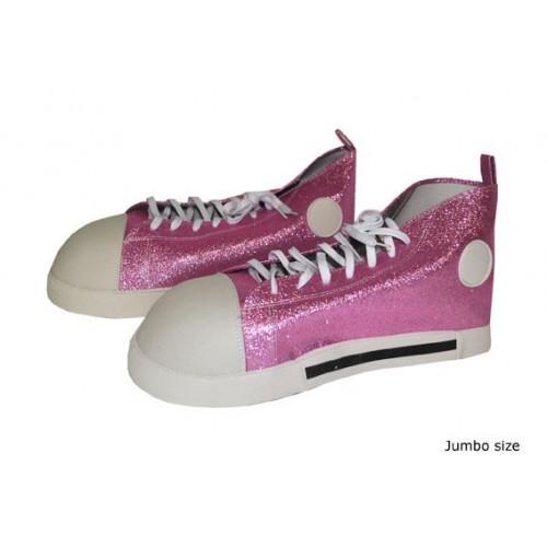 Boty klaun růžové
