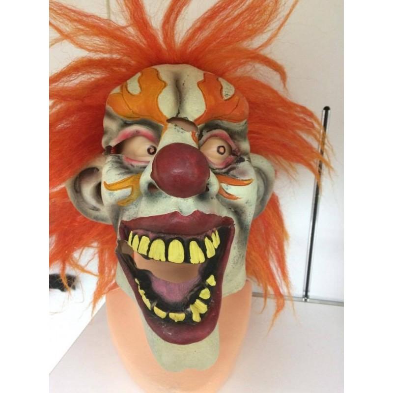 Klaun maska halloween